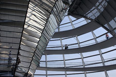 Reichstag - Berlin. View of the Reichstag in Berlin Royalty Free Stock Photo
