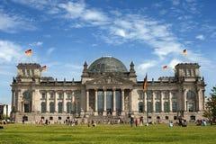 Reichstag, Berlino Fotografia Stock Libera da Diritti