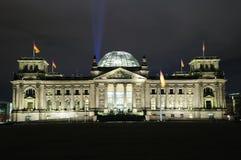 Reichstag a Berlino Immagini Stock