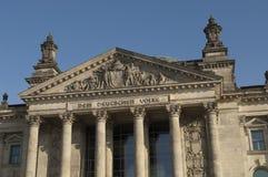 Reichstag Berlino Fotografie Stock