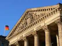 Reichstag Berlino Fotografie Stock Libere da Diritti