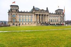 Reichstag, Berlino, Germania. Fotografia Stock
