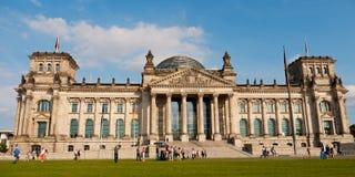 Reichstag, Berlino, Germania Fotografie Stock Libere da Diritti