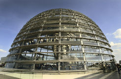 Reichstag - Berlino - la Germania Fotografie Stock