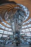 Reichstag buduje Berlińskiego Niemcy Obrazy Royalty Free