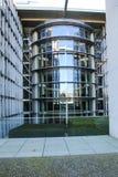 Reichstag budynek przy zmierzchem, Berlin, Niemcy Obraz Stock