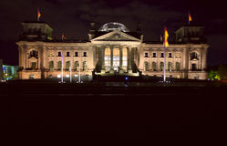 The Reichstag building Stock Photo