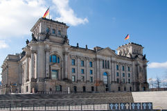 Reichstag building Stock Photos