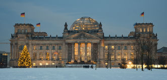 Reichstag Building. Reichstag Government Building in Berlin Royalty Free Stock Photo