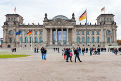 Reichstag building in autumn Stock Photography