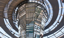 Reichstag building in Berlin Stock Photography