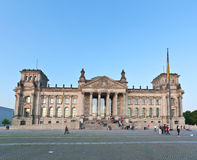 Reichstag building in Berlin Royalty Free Stock Photography