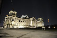 Reichstag building in Berlin Royalty Free Stock Image