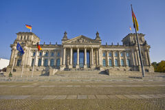 Reichstag building in Berlin. Germany Royalty Free Stock Images