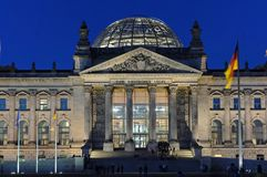 Reichstag building Berlin Royalty Free Stock Photos