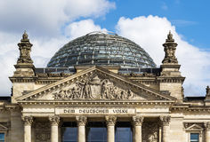 Reichstag building, Berlin Royalty Free Stock Image
