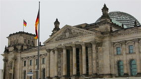 The Reichstag building in Berlin. 4 stock footage