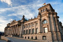 Reichstag building in Berlin Royalty Free Stock Images