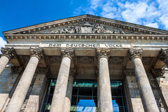 Reichstag building, Berlin Royalty Free Stock Photo