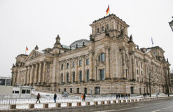 The Reichstag building in Berlin. Stock Photo