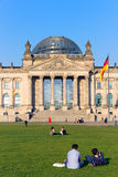 The Reichstag building in Berlin: German parliament Stock Images
