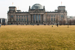 The Reichstag building in Berlin Stock Image