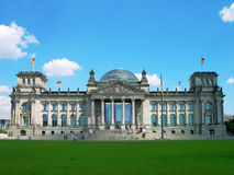 Reichstag building, Berlin, Germany Stock Photo