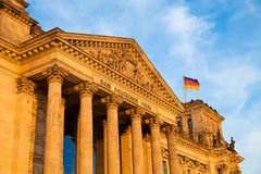 The Reichstag Building, Berlin, Germany. Stock Images