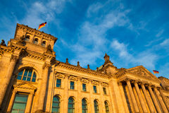The Reichstag Building, Berlin, Germany. Stock Photo