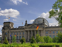 Reichstag. Building at Berlin, Germany Stock Photo