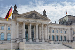 Reichstag Building Berlin Germany Royalty Free Stock Photos