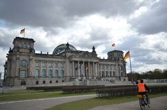 The Reichstag Building in Berlin, Germany Royalty Free Stock Photo