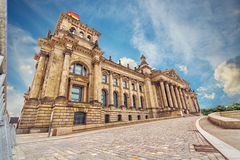 Reichstag building in Berlin, Germany Stock Photography