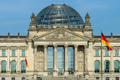 The Reichstag building. Berlin. Germany. Royalty Free Stock Photos