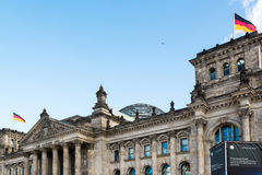 Reichstag building in Berlin, Germany Royalty Free Stock Photography