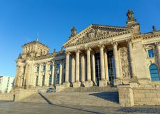 The Reichstag building in Berlin, Germany. Stock Image