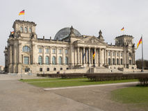 Reichstag building in Berlin, Germany Stock Images