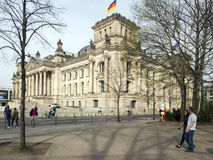 Reichstag building in Berlin, Germany Royalty Free Stock Photo