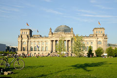 The Reichstag building in Berlin Royalty Free Stock Image