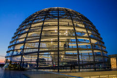 The Reichstag Building Berlin Germany Royalty Free Stock Images