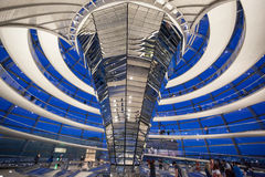 The Reichstag Building Berlin Germany Stock Image