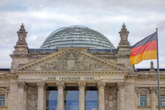 Reichstag building, Berlin, Germany Royalty Free Stock Image