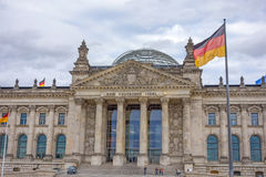 Reichstag building, Berlin, Germany Royalty Free Stock Images
