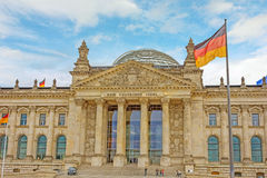 Reichstag building, Berlin, Germany Stock Images