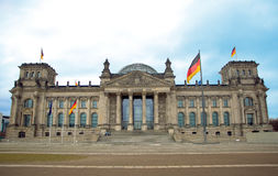 The Reichstag building, Berlin, Germany Royalty Free Stock Image