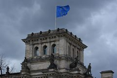 The Reichstag Building in Berlin, Germany Royalty Free Stock Image