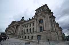 The Reichstag Building in Berlin, Germany Royalty Free Stock Photography