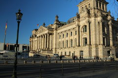 Reichstag building, Berlin, Germany Royalty Free Stock Photo