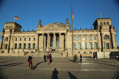 Reichstag building, Berlin, Germany Stock Photos