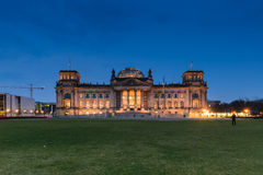 The Reichstag building in Berlin Royalty Free Stock Photography